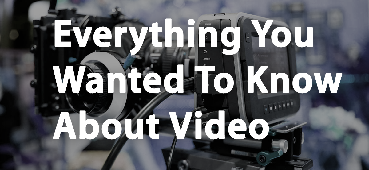 Everything You Wanted To Know About Video: Simplified [Infographic/Cheat Sheet]