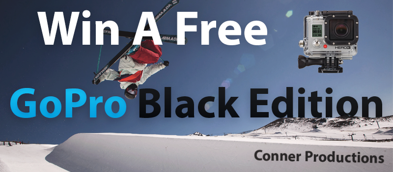 Win A Free GoPro Hero 3 Black Edition!