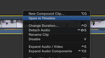Top 5 Secrets To Get The Most Out of Final Cut Pro X back to fcpx timeline tutorials