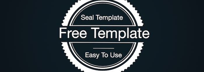 Download seal free fcp x template conner productions for Common seal template