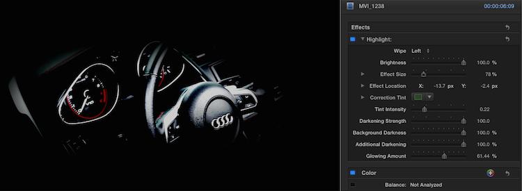 highlight-effect-customize