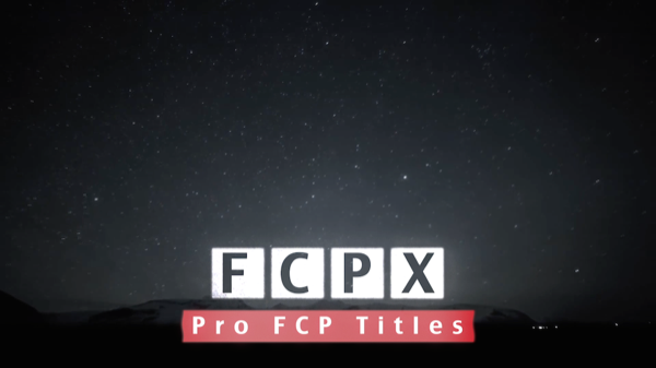 Blocks FCP X Template