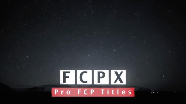 Blocks FCP X Template